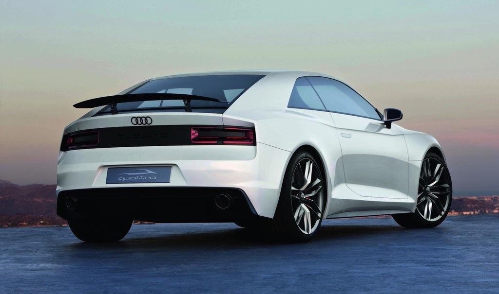 Audi Quattro Concept Rear 3/4 View