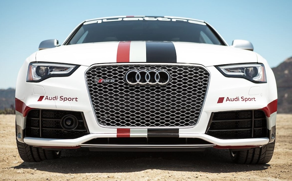 Audi RS5 2012 Pikes Peak Front View