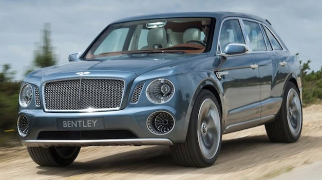 Report: Bentley's EXP 9F canned, but possibly hints at new SUV/crossover