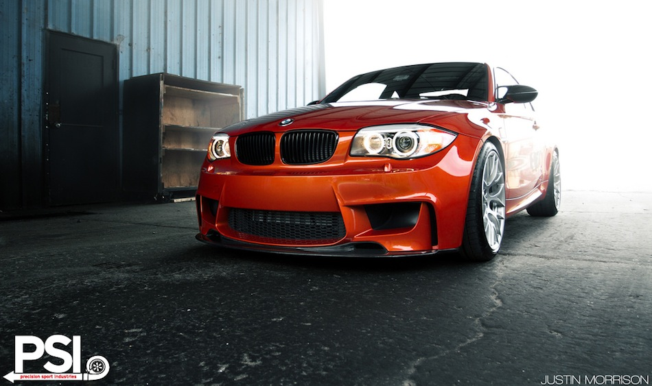 PSI BMW 1 Series M Coupe Front 3/4 View