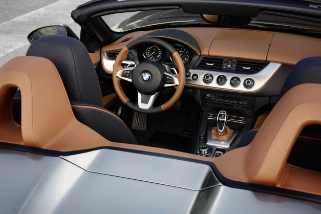 BMW Zagato Roadster Interior
