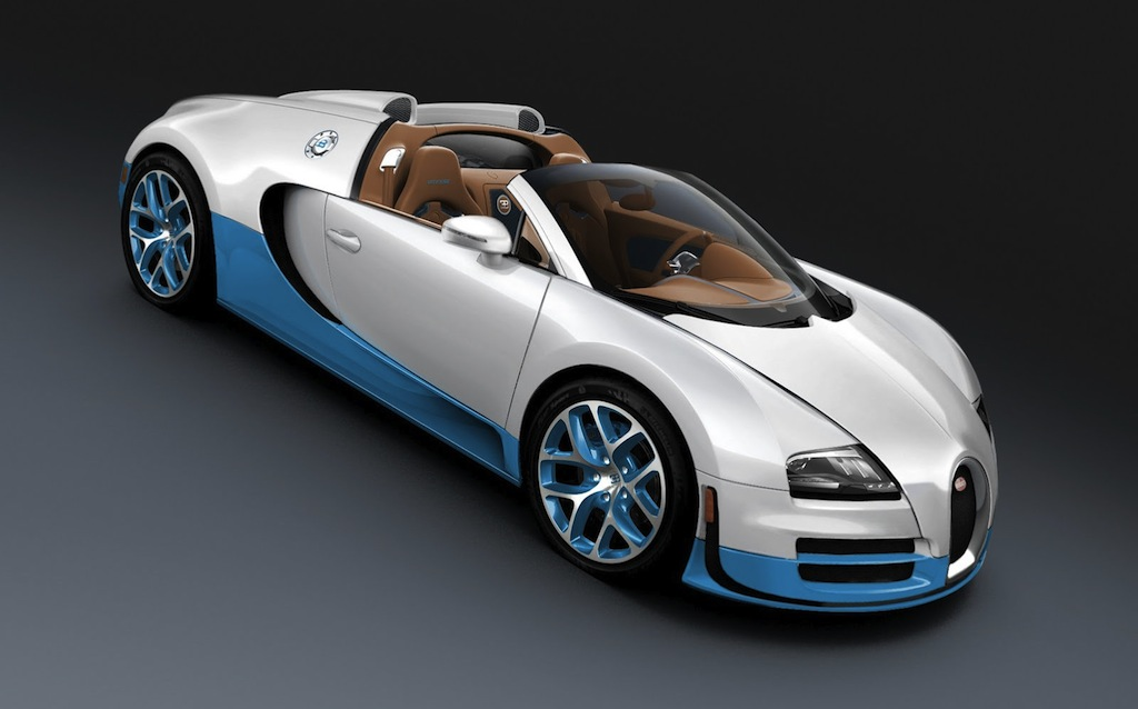 Special-edition Bugatti Veyron 16.4 Grand Sport Vitesse Top Down