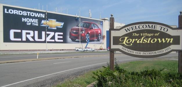Chevrolet Cruze Lordstown Ohio