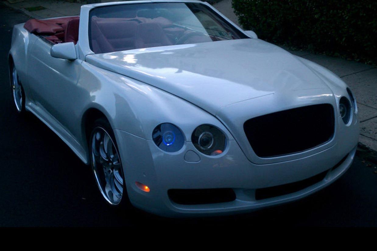 Chrysler Based Bentley Replica Front Quarter View Egmcartech