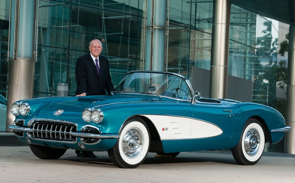 Dan Akerson 1958 Chevrolet Corvette