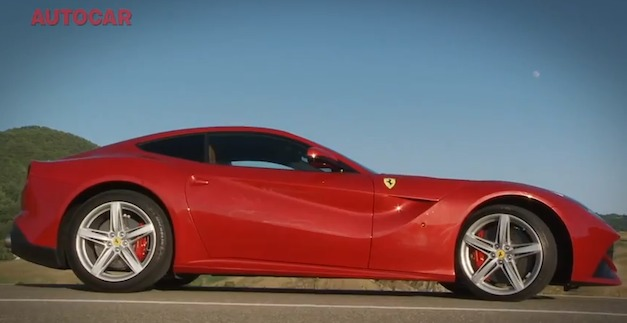 Video: AutoCar takes the Ferrari F12 Berlinetta on the road and track