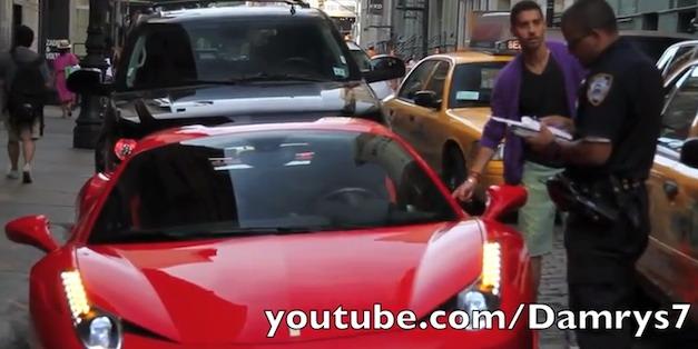 Ferrari NYPD Pratt Foot