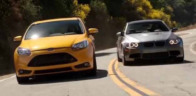 Video: 2013 Ford Focus ST takes on MazdaSpeed3, Subaru WRX… BMW M3?