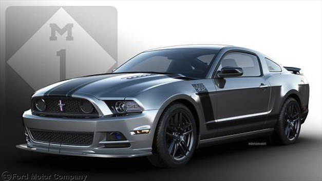 Sterling Gray 2013 Ford Mustang BOSS 302