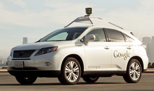 googlelexusrxhybrid Google logs 300,000 miles in self driving car project, adds Lexus RX 450h to the fleet
