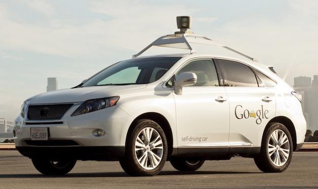 Google Lexus RX Hybrid