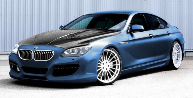 Hamann shows first image of their BMW 6-Series Gran Coupe