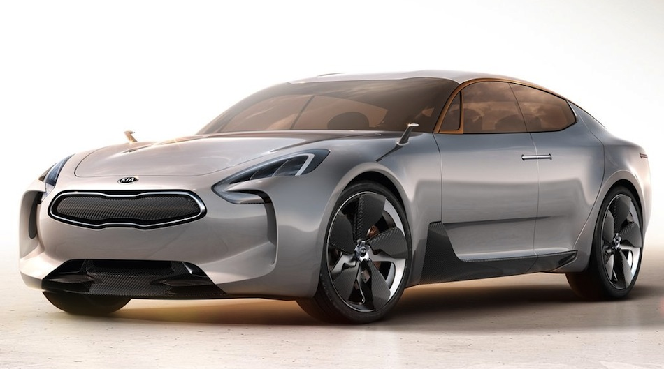 Kia GT Concept Front 7/8 View