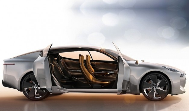 Kia GT Concept Side View
