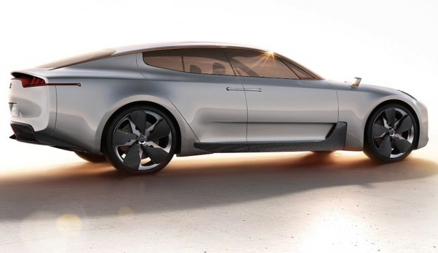 Kia GT Concept Rear 7/8 View
