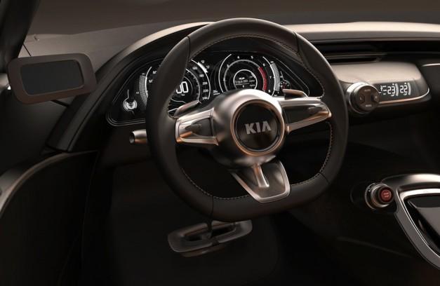 Kia GT Concept Steering