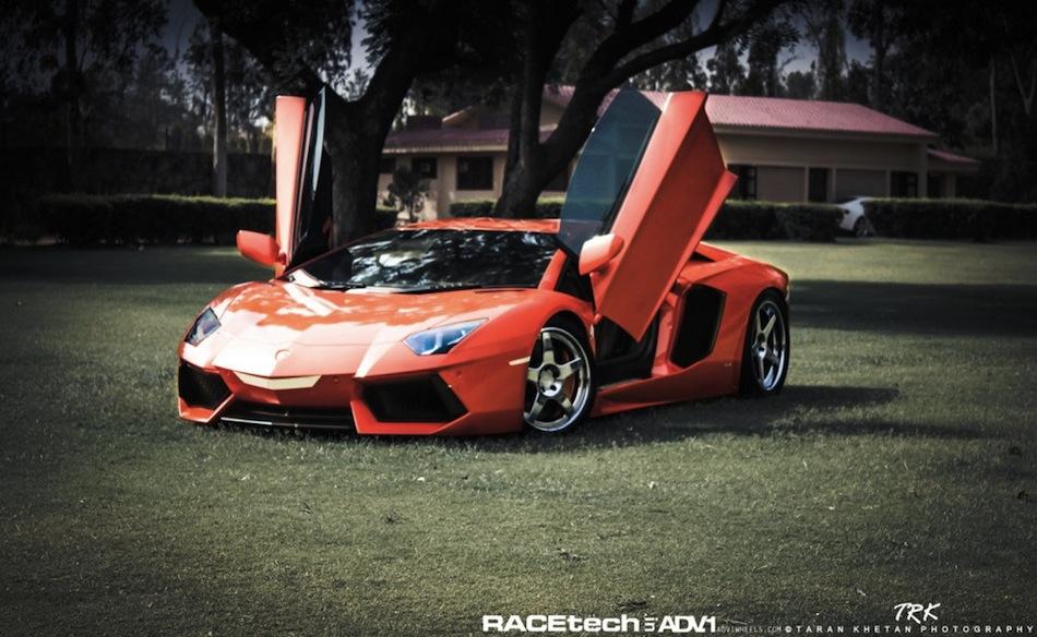 ADV.1 Lamborghini Aventador Wheels Front 3/4 Angle Doors Up & ADV.1 Lamborghini Aventador Wheels Front 3/4 Angle Doors Up ... pezcame.com