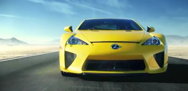 lexuslfafrontyellow Lexus 'Unleash the LFA' campaign gives you the chance to win a track day with the supercar