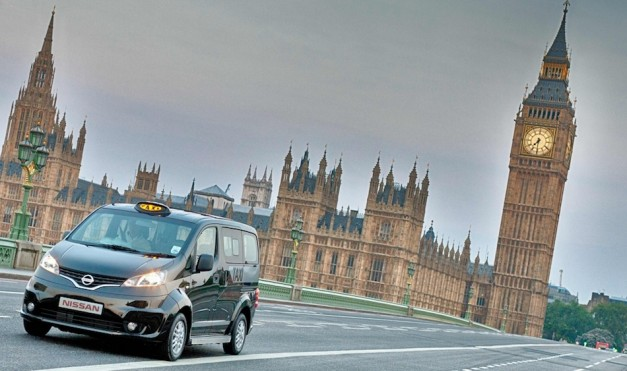 Nissan NV200 London Taxi Big Ben