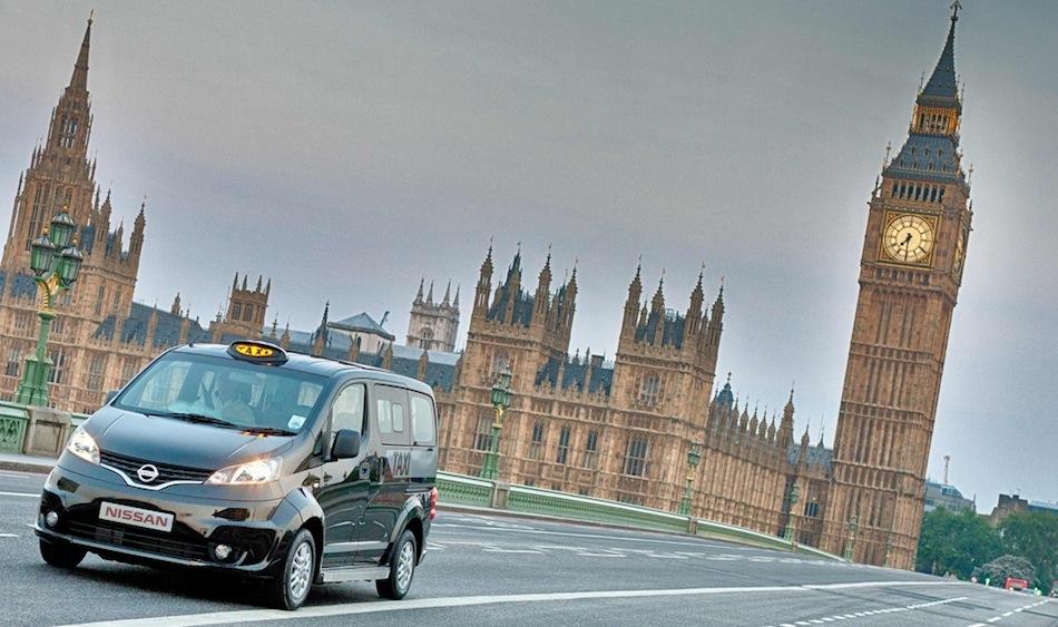 Nissan NV200 London Taxi Big Ben