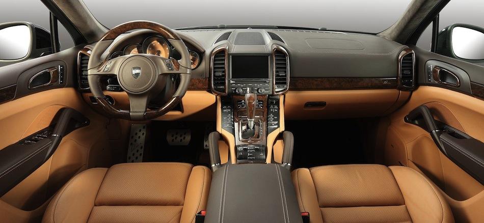 Lumma design porsche cayenne ii black interior egmcartech Porsche cayenne interior parts