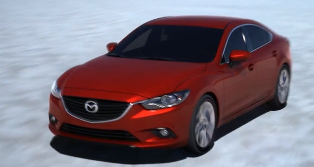 mazda6actionvideo Video: 2014 Mazda6 makes action debut