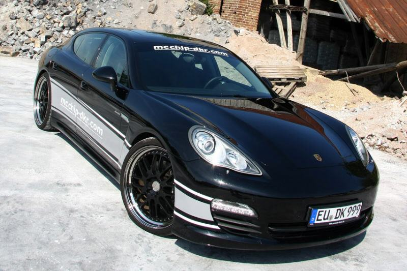 McChip Porsche Panamera Diesel Front Angle