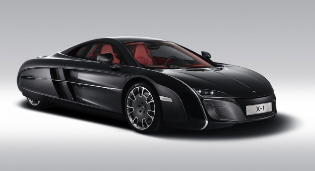 McLaren X-1 is a one-off model created for an anonymous client