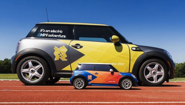 Mini MINI R/C car called in for duty at 2012 Olympics