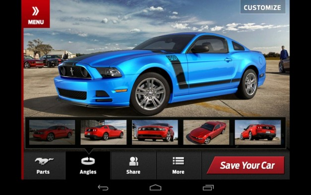 2013 Ford Mustang Customizer? There's an app for that