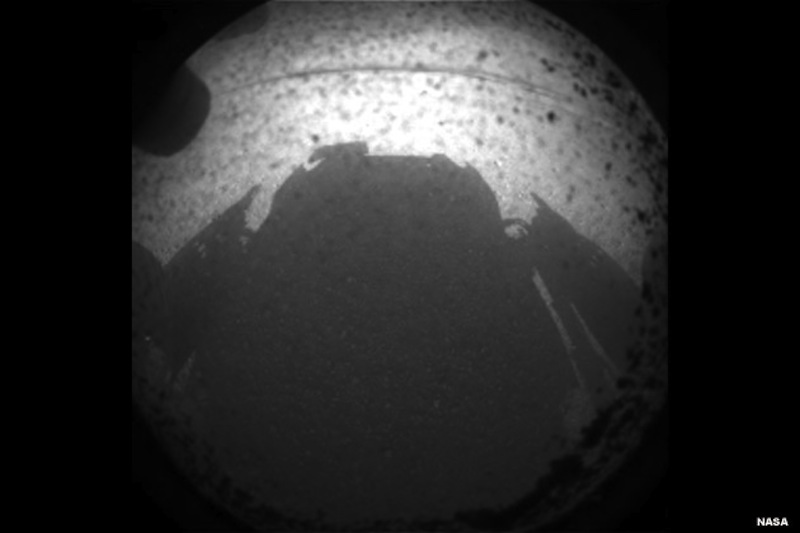 Mars Curiosity rover First Image 2