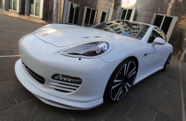 Anderson Germany does the Porsche Panamera White Storm Edition