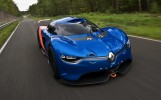Renault Alpine Front 3/4 Action View