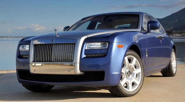 Rolls-Royce Ghost Blue