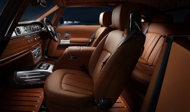 Rolls-Royce Phantom Coupe Aviation Collection Seats