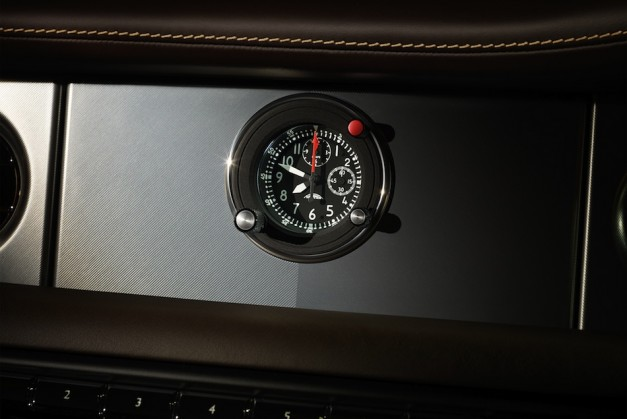 Rolls-Royce Phantom Coupe Aviation Collection Clock