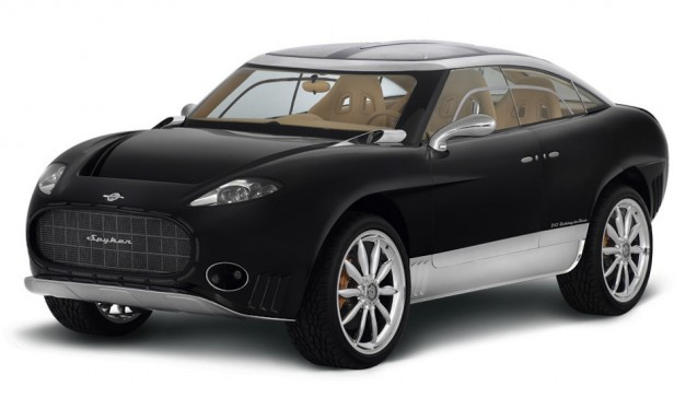 Report: Spyker plans to build a V12-powered crossover SUV