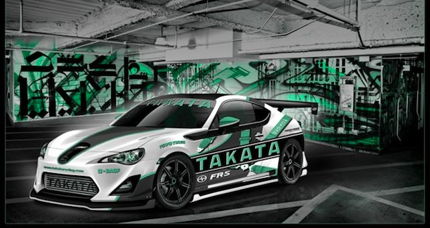 Fox Marketing working on supercharged Takata Racing FR-S