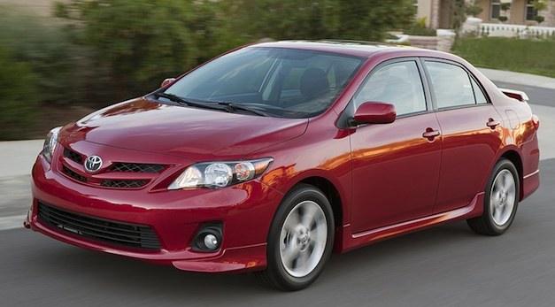 Toyota Corolla Red