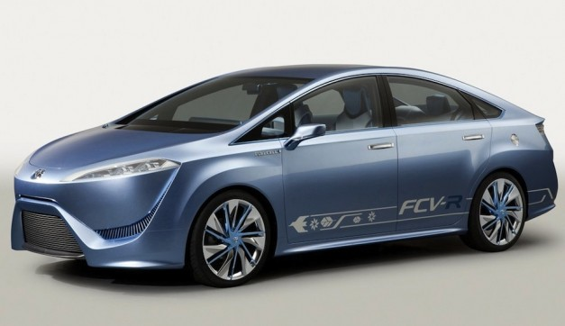 Report: Toyota to produce low-volume hydrogen fuel-cell production vehicle by 2015, concept due at Tokyo this year
