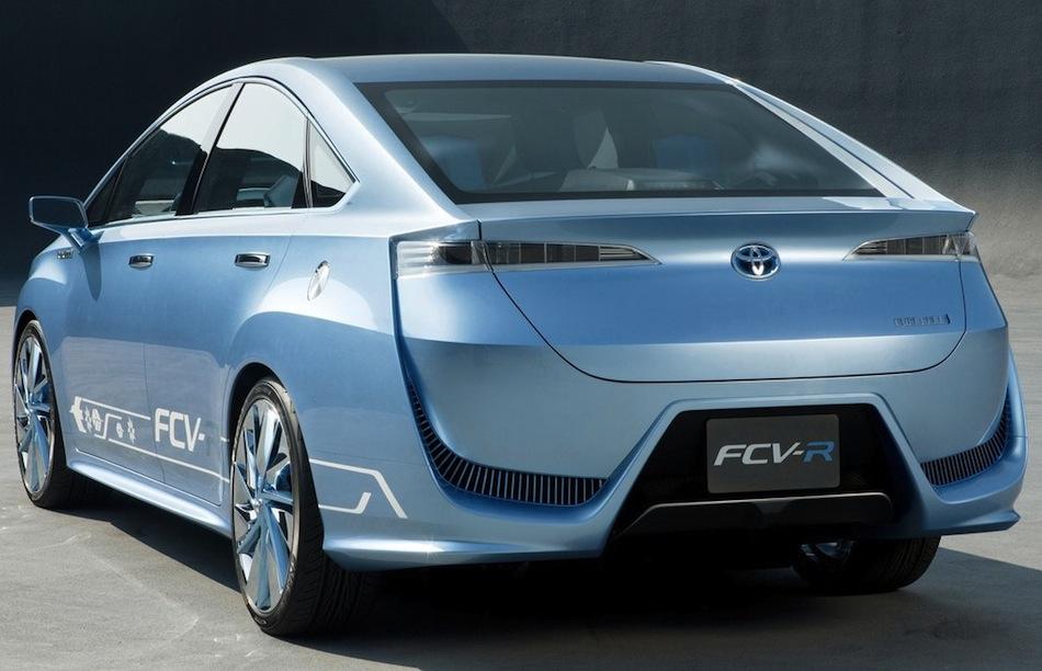 Toyota FCV-R Concept Rear