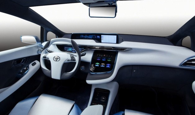 Toyota FCV-R Concept Interior