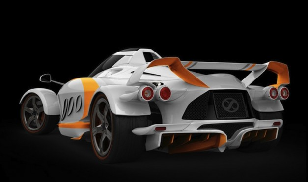 Tramontana XTR Sketch Rear 7/8 View