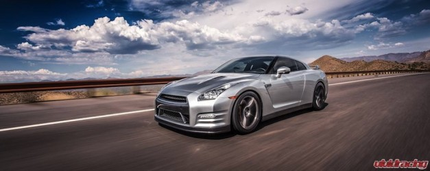 Vivid Racing Nissan GT-R II Front Quarter Action Shot