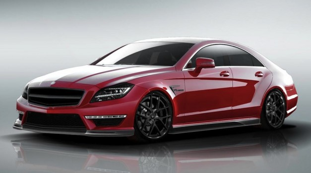 Vorsteiner shows their tuning kit for the Mercedes-Benz CLS 63 AMG