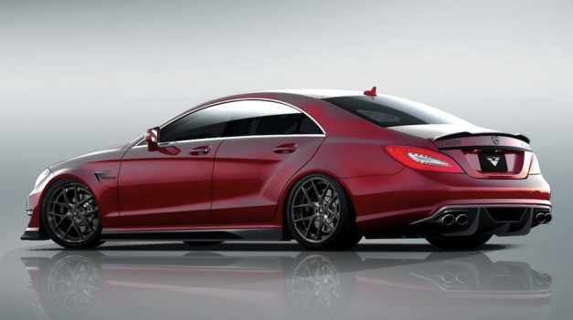 Vorsteiner Mercedes-Benz CLS 63 AMG Preview Rear Quarter Angle