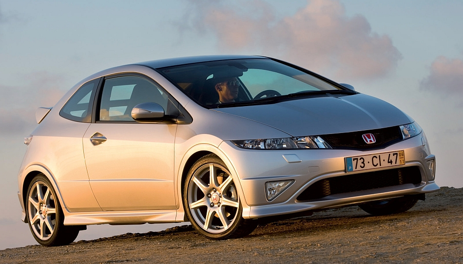 2007 honda civic type r front 3 4 right angle egmcartech. Black Bedroom Furniture Sets. Home Design Ideas