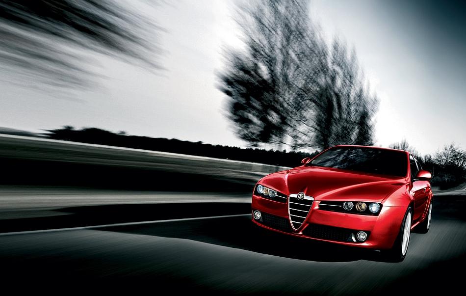 2011 Alfa Romeo 159 Front Silhouette