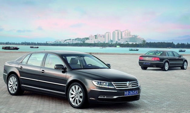 Volkswagen's next-gen Phaeton may be offered in EV form