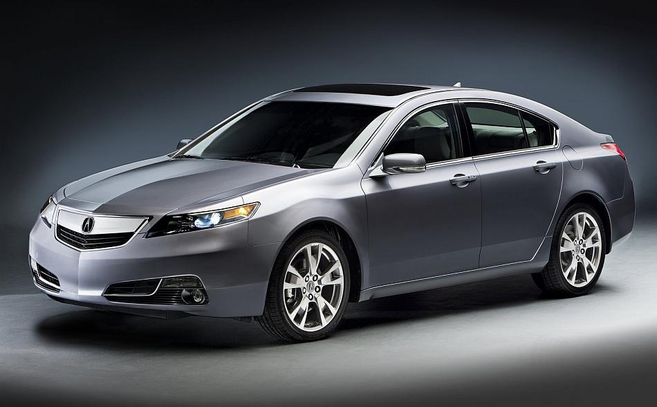 2012 Acura TL Front 3-4 Right Studio